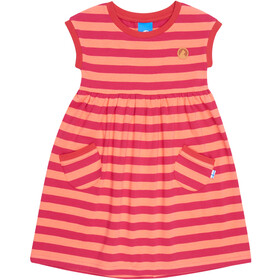 Finkid Lilli Robe Fille, raspberry/georgia peach